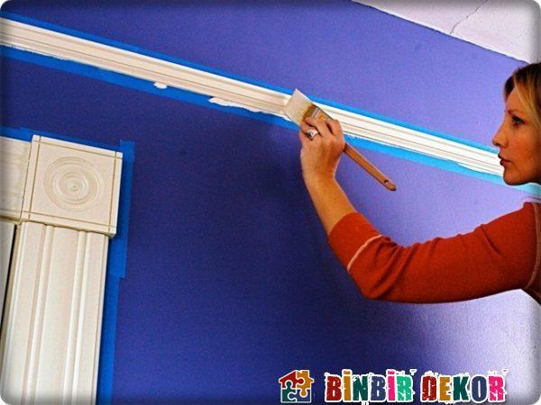 Pratik Duvar Boyama Fikirleri Evde Dekorasyon Önerileri