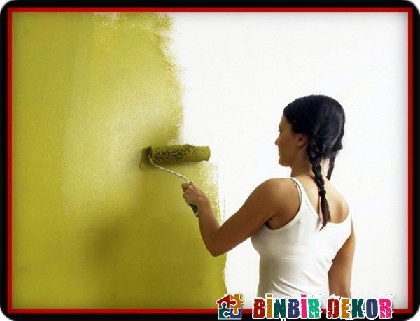 Duvar Boyama Nasıl Yapılır ve Duvar Boyama Önerileri