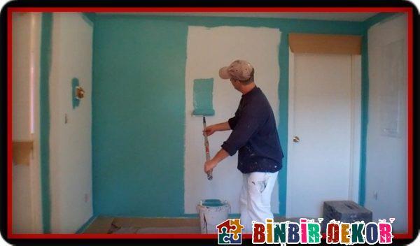 Duvar Dekorasyon Fikirleri ve Duvar Boyası Yapma Önerileri