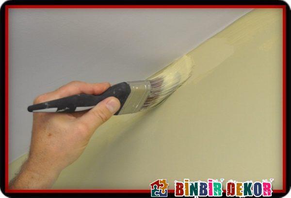 Duvar Tavan Kestirme Boya Uygulamaları ve Duvar Boyama İpuçları