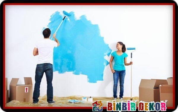 Ev Dekorasyonu Duvar Boyama Önerileri ve Boya Badana İpuçları