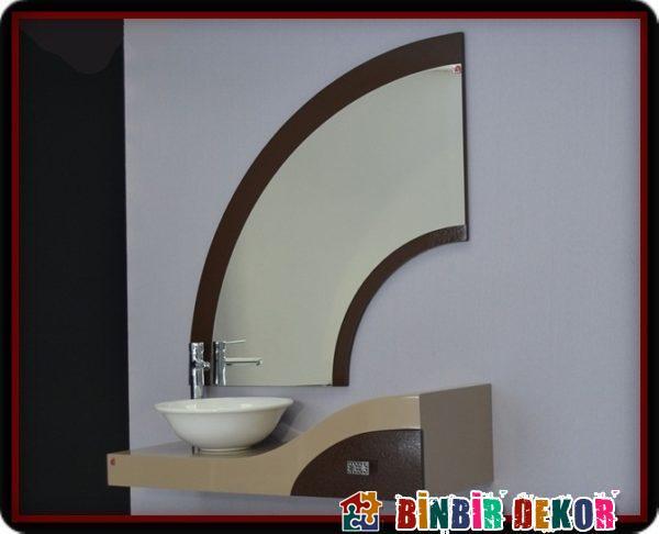 Tekzen Banyo Dolabı Modellerinden Örnekler