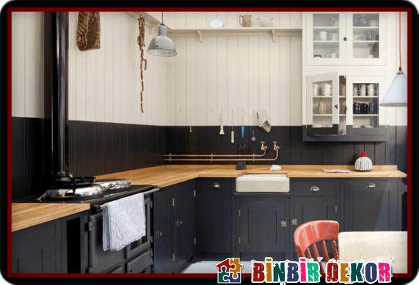 5efdeb8e4c381 Son Moda Boya Renkleri ile Mutfak Dolabı Yenileme Örnekleri ...