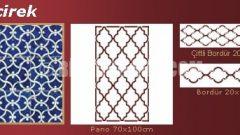 Boyanabilir Osmanlı Desenleri