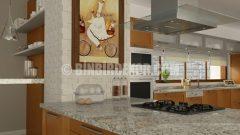 KALE'DEN Harika bir mutfak tasarımı; PİMENTO