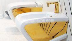 Altın Banyo Armatürleri