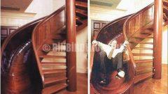 İlginç Bir Merdiven Tasarımı