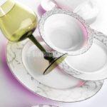 84 Parça Porselen Yemek Takımı (EMSAN)