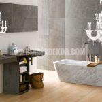 Doğadan esinlenen şık banyolar