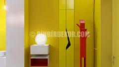 Sarı-Kırmızı Apartman Dairesi
