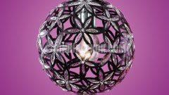 Modern kristal avizeler (Eglo)