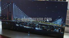 Led ışıklı dekoratif tablolar
