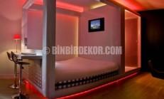 Işıl ışıl yatak odası modelleri