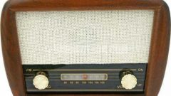 Nostaljik ahşap radyolar