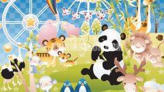 Bebek odası için duvar resimleri (Eazywallz)