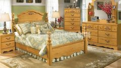 Country Tarzı ile Döşenmiş Yatak Odaları