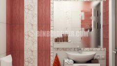 Küçük banyolar için şık dekorasyonlar
