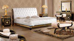 Swarovski taşlı yatak odası takımları
