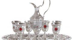Gümüş salon aksesuarları (Silver Home)
