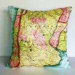 Harita Desenli İlginç Kırlentler