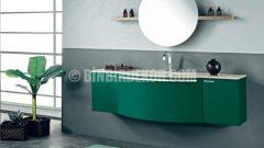 Modern desenli şık banyo dolapları