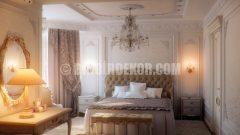 Şık ve romantik yatak odası tasarımları