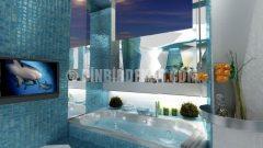 Yenilikçi banyo tasarımları (Gemelli)