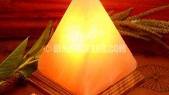 Hem sağlıklı hem dekoratif tuz lambalar