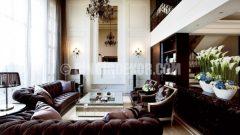 Klasik ve Modern dekorasyon bir arada