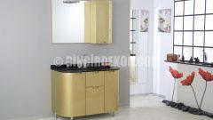 Çok şık hazır banyo mobilyaları (Bellavita)