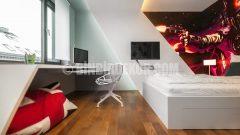 Ultramodern bir genç odası dekorasyonu