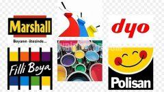 Boya markaların en çok satan renkleri