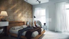 Çağdaş yatak odası dekorasyonları (Koj Tasarım)