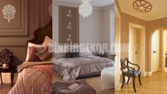 Zarif Osmanlı renkleri ve duvar desenleri (Marshall)