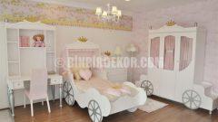Çok güzel kız çocuk odaları (Masko)
