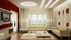 Salonlar için şık asma tavan modelleri