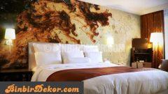 Çok dekoratif resimli duvar panelleri