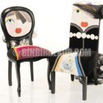 İlginç karakterler komik sandalyeler