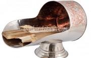 Şömine için dekoratif odunluk tasarımları