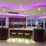 Ada tezgahlı modern mutfaklar