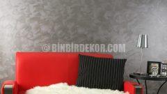 Filli boya desenli duvar renkleri (Alpina Style dalgalı doku)