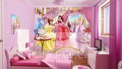 Pespembe kız çocuk odaları