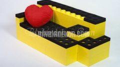 LEGO parçaları ile modern dekorasyon