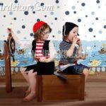 Çocuk odası İtalyan duvar kağıtları
