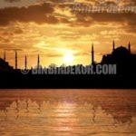İstanbul manzaralı pano duvar kağıtları