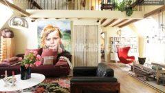Paris'ten çok şık ev dekorasyonları