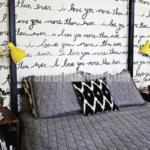 Yatak başı duvar dekorasyonu fikirleri