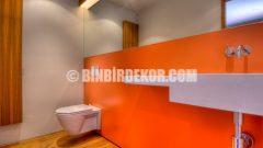 Modern banyo dekorasyon görselleri