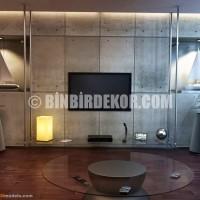 ... Room TV Wall Units 16 TV Arkası Yaşam Ünitesi Dekorasyon Modelleri