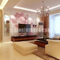 tv arkası duvar kağıdı dekorasyonu › Evim Şahane Dekorasyon ...